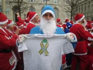 Tom does the Santa Dash!